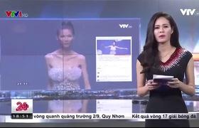 """Clip Cao Ngân rơi nước mắt khi nói về chuyện bị chê gầy trơ xương ở """"Vietnam's Next Top Model""""."""