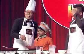 """Trailer tập 5 """"Mặt trời bé con"""": Siêu đầu bếp Ấn Độ 7 tuổi thích thú nấu ăn cùng Lại Văn Sâm."""