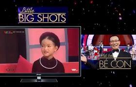 """Tập 5 """"Mặt trời bé con - Little big shots"""": Cô bé Thục Trinh gây bất ngờ khi hát ca trù bằng tiếng Anh."""