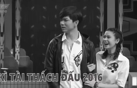 """""""Kỳ tài thách đấu 2017"""": Thiếu vắng Trương Quỳnh Anh, Tim lẻ loi xuất hiện trong gameshow"""