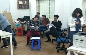 Xuân Bắc, Vân Dung bị đạo diễn Đỗ Thanh Hải mắng trong hậu trường Táo Quân 2018