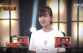 """Gala 2 của """"Thách thức danh hài"""": Cặp thí sinh Hoài Sang - Thị Thơm"""