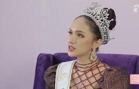 """""""1 tiếng kể hết"""": Hoa hậu Hương Giang tự tin nói về phát ngôn """"em không đẹp sao anh"""" trên truyền hình Thái Lan"""