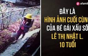 Hình ảnh cuối cùng của bé gái Việt xấu số