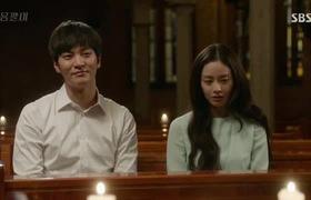 Yongpal tập 8: Kim Tae Hee hôn Joo Won trong nhà thờ