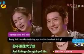 Trò chơi thú vị của Huỳnh Hiểu Minh và Angelababy