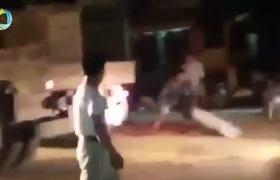 Xôn xao clip nhiều người lao ra giữa đường thu gom hạt ngô bị rơi vãi từ chiếc ô tô ở Hà Nội