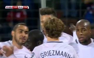 Giroud tỏa sáng, Pháp dễ dàng thắng Luxembourg