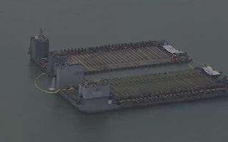 Hàn Quốc: Toàn cảnh trục vớt phà Sewol ở độ sâu 40m