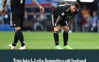 Bắn hạ Nigeria, Croatia gián tiếp đẩy Argentina vào chân tường
