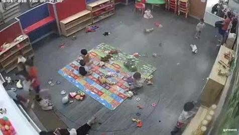 Giáo viên mầm non đánh học sinh ở Nghệ An
