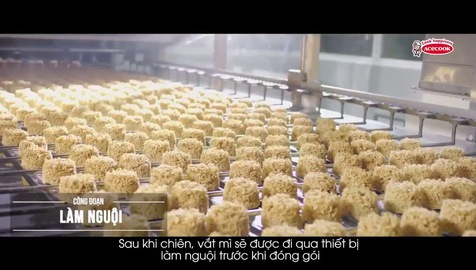 Khám phá cách Người Nhật sản xuất mì ăn liền