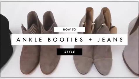 7 cách mix bốt cổ thấp với quần jeans