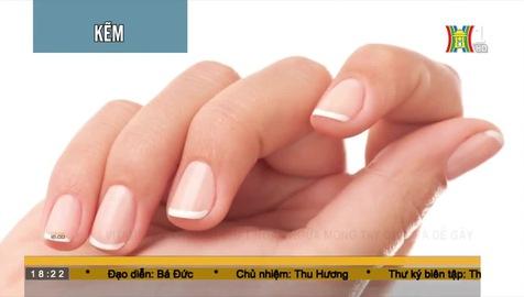 Vitamin và khoáng chất ngăn ngừa móng tay giòn và dễ gãy