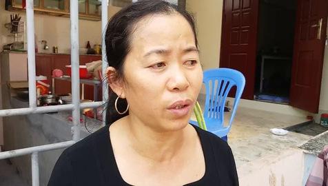 Bà Châu, anh Thìn kể lại sự việc với PV Báo Gia đình & Xã hội