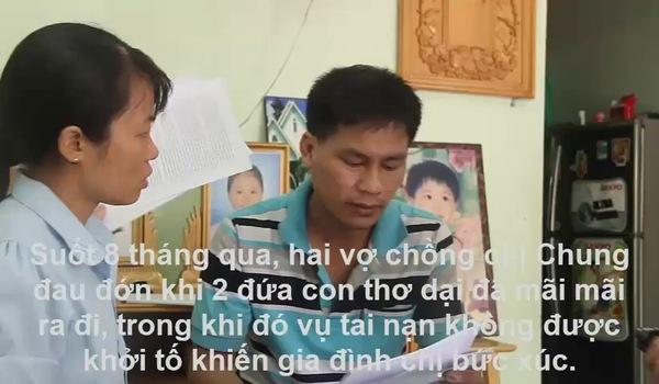 Xót cảnh 2 đứa trẻ chết vì TNGT, bố mẹ ôm di ảnh cầu cứu khắp nơi vì không khởi tố vụ án