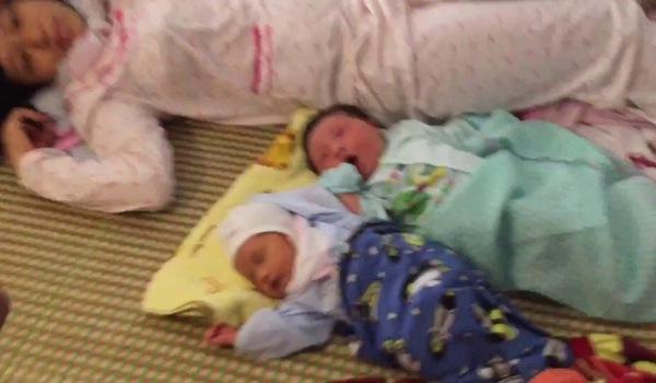 Bé trai sơ sinh nặng 7,1kg sinh ra ở Vĩnh Phúc
