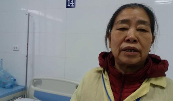 Bà Chiến kể về hoàn cảnh và cháu nội phải nằm viện trong điều kiện kinh tế quá khó khăn