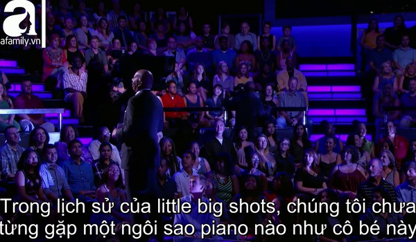 """""""Little Big Shots"""": Màn trình diễn đàn dương cầm gây kinh ngạc của Anke Cheng."""
