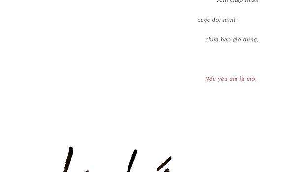 """Lê Hiếu tung teaser ca khúc mới """"Nếu yêu em là sai"""""""