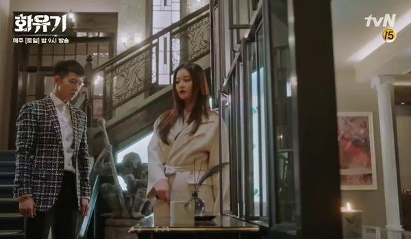 """Tập 15 """"Hoa Du Ký"""": Asanyeo doạ làm tổn thân xác của Jin Sun Mi, ép Son Oh Gong kết hôn với mình"""