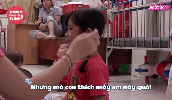Con đến từ hành tinh nào tập 13: Con gái Huy Khánh muốn được chăm sóc hết các em nhỏ mồ côi