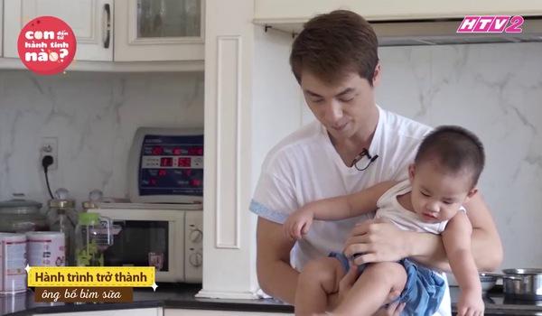 Con đến từ hành tinh nào tập đặc biệt: Đăng Khôi làm ông bố bỉm sữa