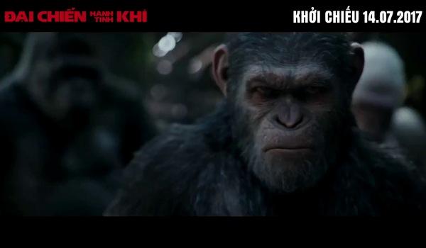 """Trailer cuối cùng của """"Đại chiến hành tinh khỉ"""""""