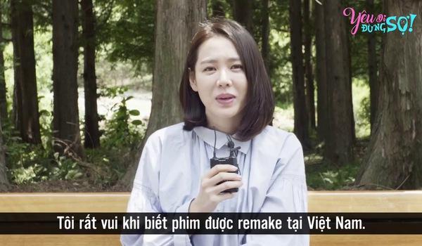 Clip Son Ye Jin gửi lời chào khán giả Việt Nam