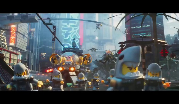 "Trailer phim ""Lego Ninjago The Movie"""