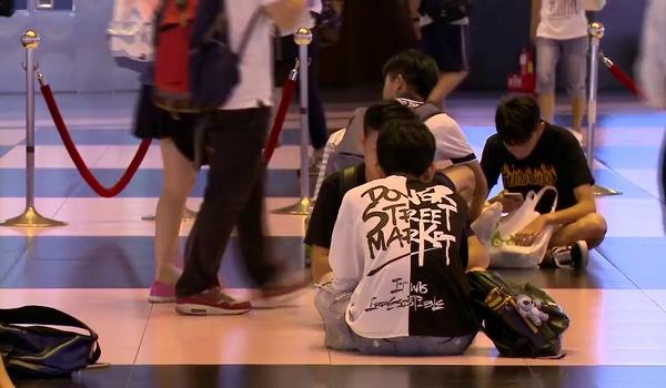 Video nhảy flashmod của các mẹ bầu tại trạm xe Taipei Main được quay vào tháng 9/2017