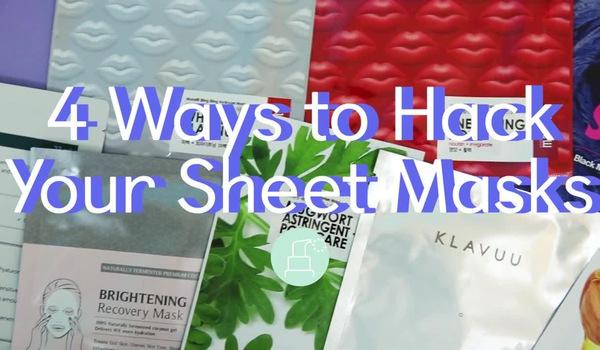 4 cách giúp tận dụng tối ưu mặt nạ giấy