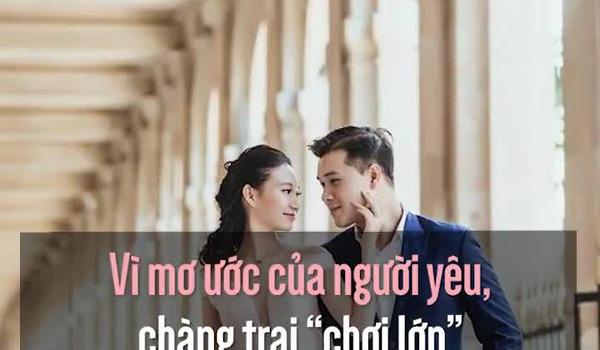 """Vì mơ ước của người yêu, chàng trai """"chơi lớn"""" sang Pháp chụp ảnh cưới"""