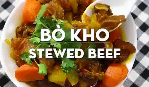 Bí kíp nấu bò kho mềm thơm đậm vị ăn kiểu gì cũng ngon