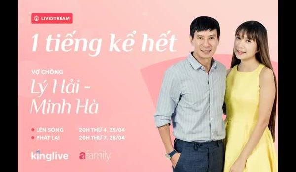 """Lý Hải - Minh Hà nói về áp lực sinh 4 con, bị gọi là """"cái máy đẻ"""" của showbiz."""