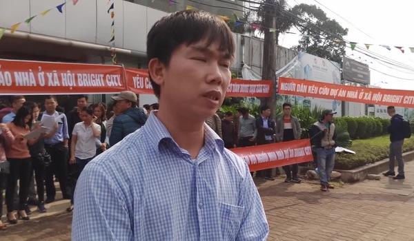 Video: Đại diện cư dân bức xúc với CĐT về việc chậm trễ bàn giao nhà