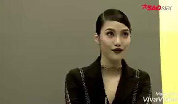"""Clip Minh Tú mắng Lan Khuê ở """"The Face 2017"""": Cởi cái quần độn mông ra rồi nói chuyện với chị!"""