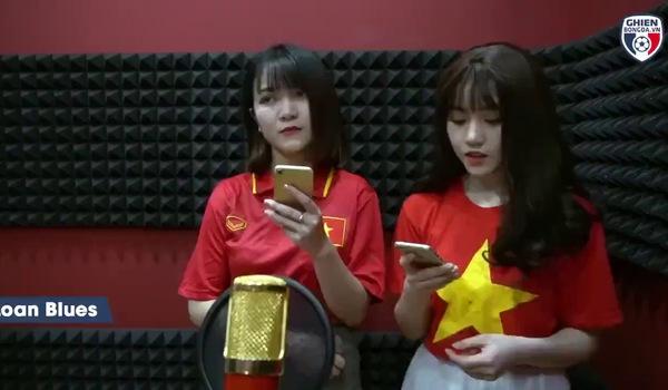 Nữ CĐV xinh đẹp từng gây 'bão mạng' cover Người lạ ơi để cổ vũ U23 Việt Nam