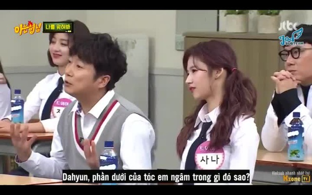 Knowing Brothers: Truyền thống của TWICE