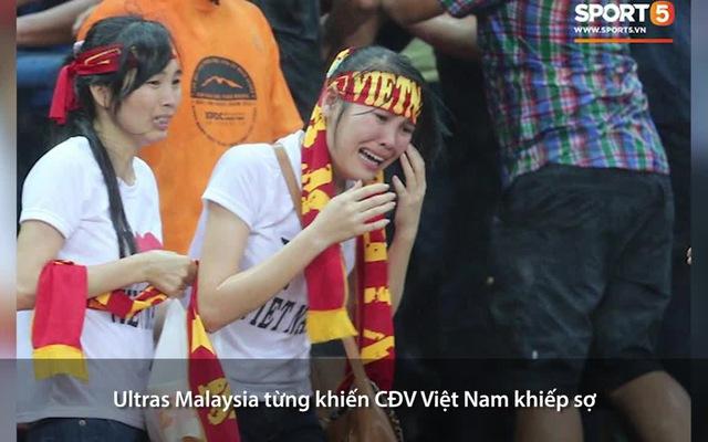 Ultras Malaysia từng khiến CĐV Việt Nam khiếp sợ