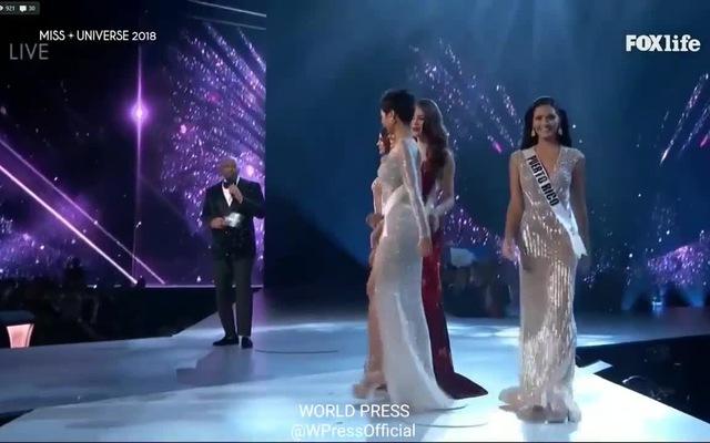 H'Hen Niê trả lời phần thi ứng xử Top 5 Miss Universe 2018