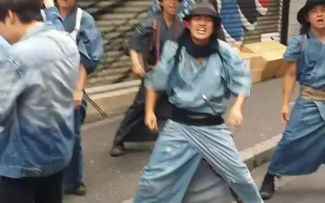Samurai nhặt rác