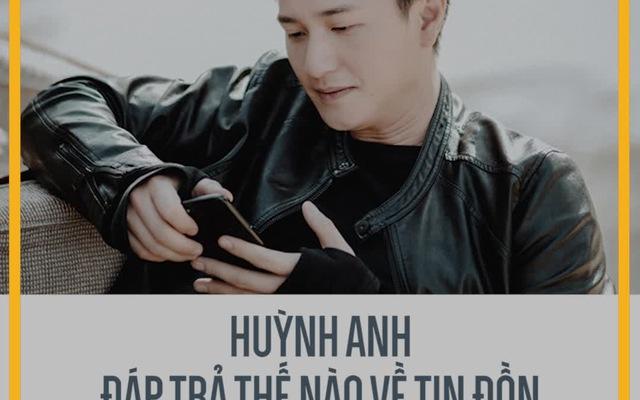 """Huỳnh Anh đáp trả thế nào về tin đồn từng """"ăn bám"""" Hoàng Oanh?"""