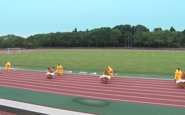 Đại hội thể thao siêu đáng yêu của các linh vật Pokemon: Pikachu và Eevee, đội nào sẽ thắng?