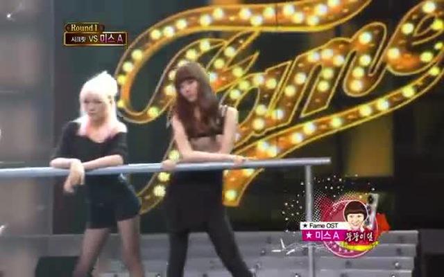 Màn trình diễn với xà ngang cực ấn tượng của miss A