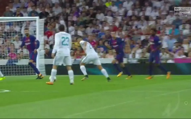 Real Madrid 2-0 Barcelona