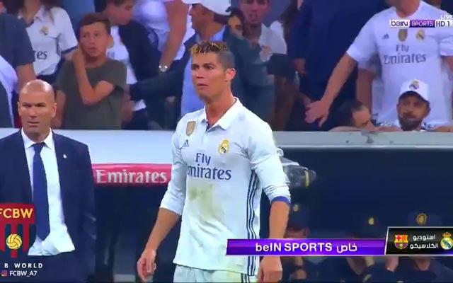 Ronaldo nổi giận sau khi Real Madrid thua ngược Barca