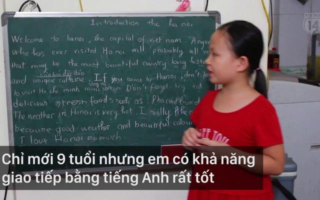 Clip: Gặp gỡ cô bé xinh xắn dạy người nước ngoài nói tiếng Việt