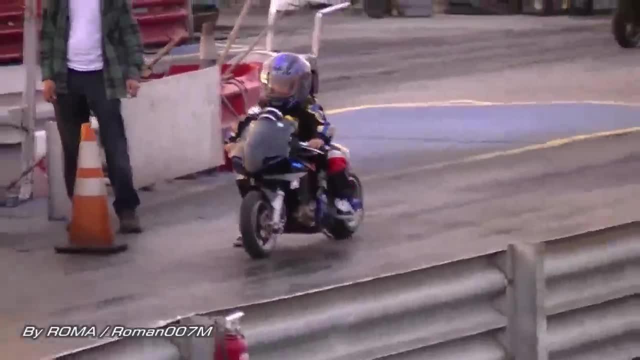 Không nghi ngờ gì nữa, đây chính là các thần đồng chạy xe moto