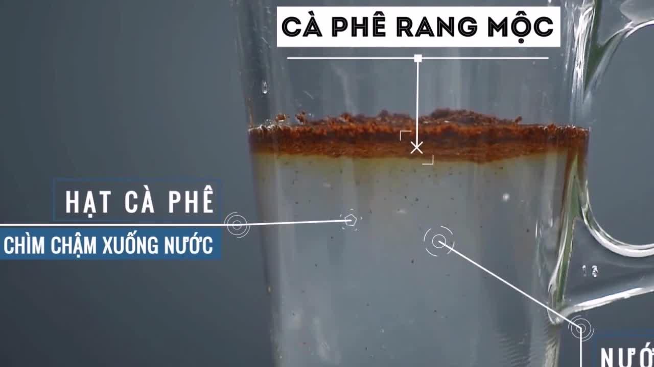 Cách phân biệt cà phê trộn tạp chất